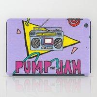 pump the jam iPad Case
