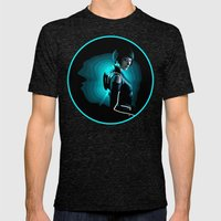 Quorra Mens Fitted Tee Tri-Black SMALL