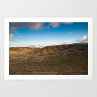 The Hills of Moscow (Idaho) Art Print