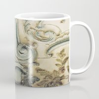 Blue Lace of Versailles Mug