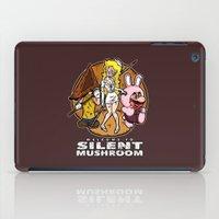 Silent Mushroom iPad Case