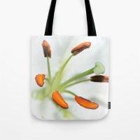 Lily Stamen Tote Bag