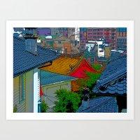 Okujō  Art Print