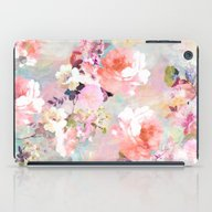 iPad Case featuring Love Of A Flower by Girly Trend