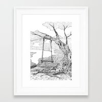 The Old Tree Framed Art Print