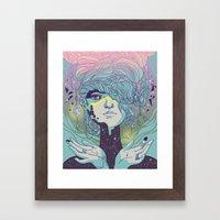 Braided Reality Check Framed Art Print