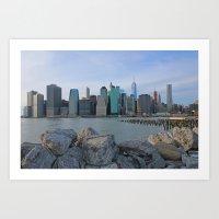 Brooklyn Heights Promena… Art Print