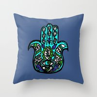 Third Eye Throw Pillow
