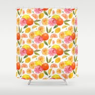CITRUS Shower Curtain