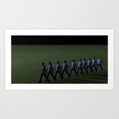 Boys_Series_n°1 Art Print