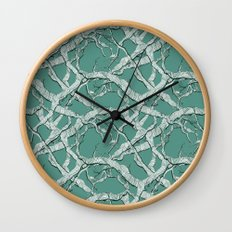Winter Branches Wall Clock