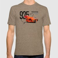 Porsche 935 K3 Jagermeister  Mens Fitted Tee Tri-Coffee SMALL