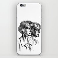 Carey iPhone & iPod Skin