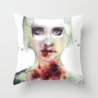 Keeping Inside This Wild… Throw Pillow