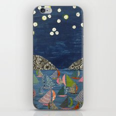 night sailing iPhone & iPod Skin