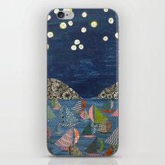 night sailing iPhone & iPod Skin