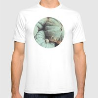 Les Citrouilles No. 2 Mens Fitted Tee White SMALL
