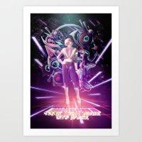10000 Lightyears Into Sp… Art Print