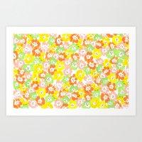 Morning Glory  - Sun Mul… Art Print