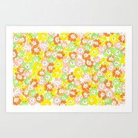 Morning Glory  - Sun Multi Art Print