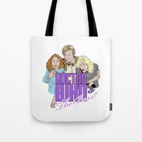 Doctor Who's The Boss? Tote Bag