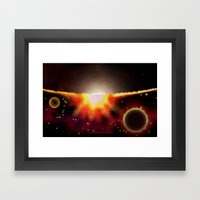 ANOTHER HORIZON - 047 Framed Art Print