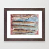 Indecisive Landscape Framed Art Print