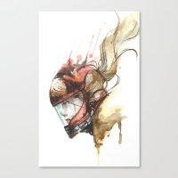 Zero Laser Canvas Print