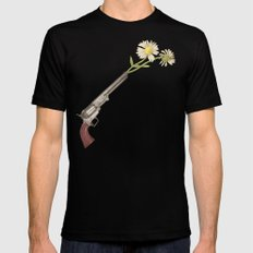 Peacemaker Black SMALL Mens Fitted Tee