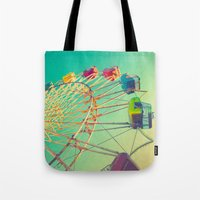 October Skies Tote Bag