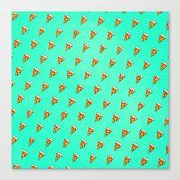 Cool And Trendy Pizza Pa… Canvas Print