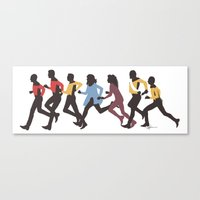 Away Mission: The Next Generation Canvas Print