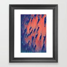 deep-water dream Framed Art Print