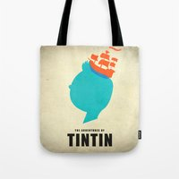 THE ADVENTURES OF TINTIN Tote Bag