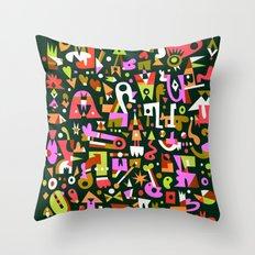 Schema 16 Throw Pillow
