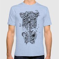 Idiopathic Idiot Mens Fitted Tee Athletic Blue SMALL