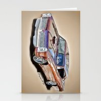 Pontiac GTO Stationery Cards