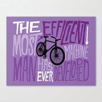 The Most Efficient Machine Canvas Print