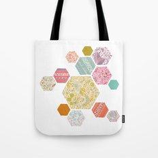 Summer honeycomb Tote Bag