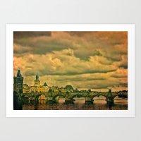 The Charles Bridge - Pra… Art Print