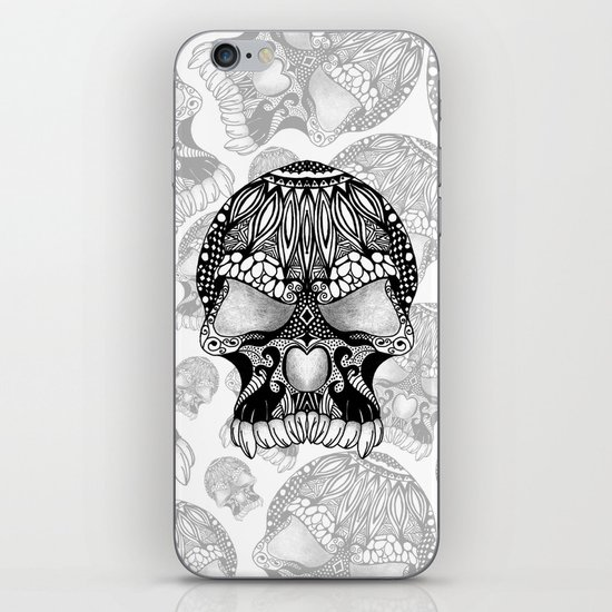 Sugar Skull.  iPhone & iPod Skin