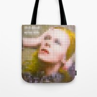 Bowie : Hunky Dory Pixel… Tote Bag