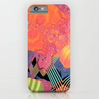 iPhone Cases featuring Mardi Gras by Lyle Hatch