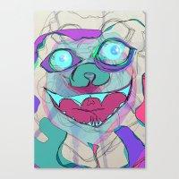 little monster Canvas Print