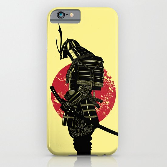 The Headless Samurai  iPhone & iPod Case