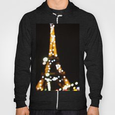 The lights of the eiffel tower Hoody