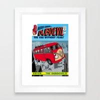 DubDevil Framed Art Print