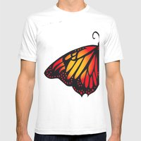 Symmetry Mens Fitted Tee White SMALL