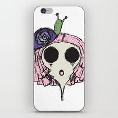 Snail Girl iPhone & iPod Skin