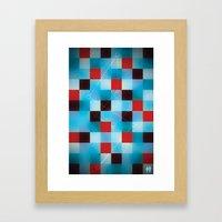 Chemistry. Framed Art Print